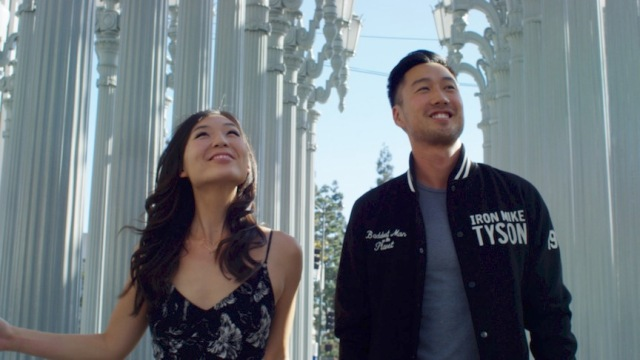 Kat and Andrew in LACMA